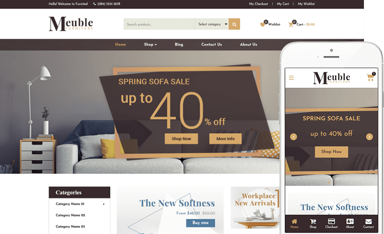 Meuble WooCommerce Theme